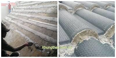 Cách lợp ngói trên mái bê tông